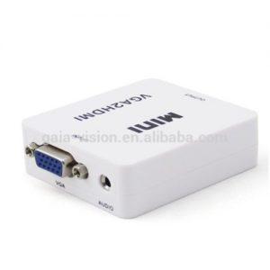 Converter VGA to HDMI.