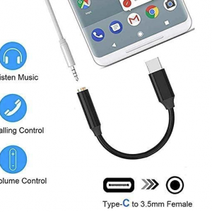 Type C to 3.5mm adapter.