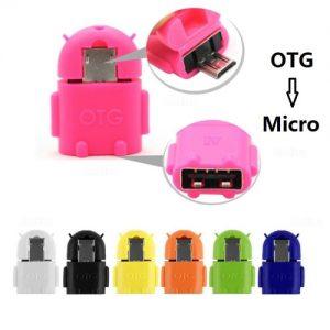 OTG USB adapter.