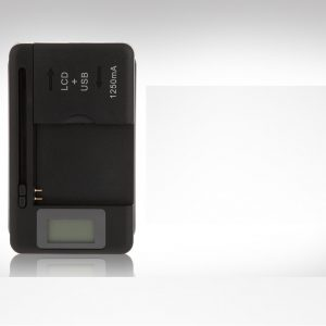 UNIVERSAL BATTERY CHARGER WITH USB OUTPUT